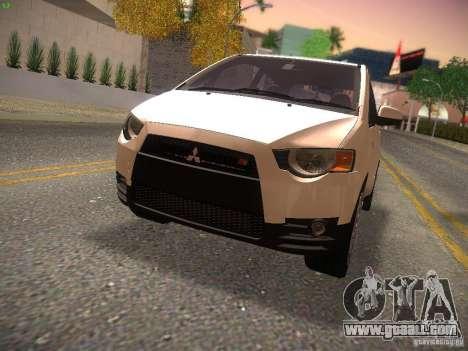 Mitsubishi Colt Rallyart for GTA San Andreas