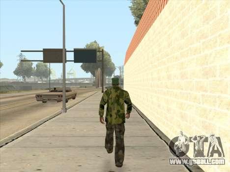 Camouflage jacket for GTA San Andreas fifth screenshot