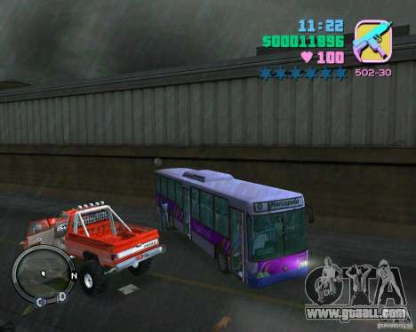 Marcopolo Bus for GTA Vice City inner view