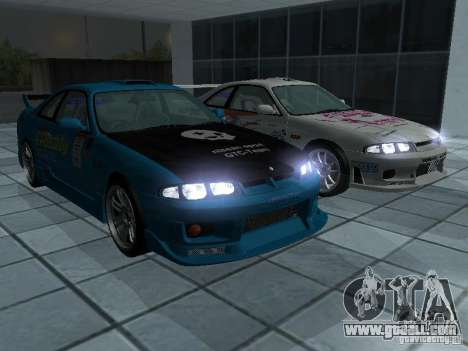 Nissan Skyline R 33 GT-R for GTA San Andreas side view