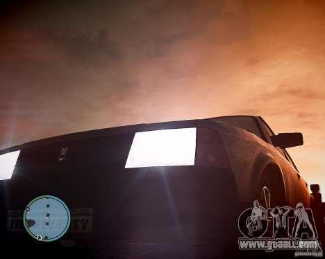 AZLK Moskvich 2141 for GTA 4 side view