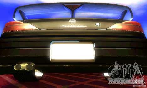Nissan Silvia S15 8998 Edition Tunable for GTA San Andreas inner view