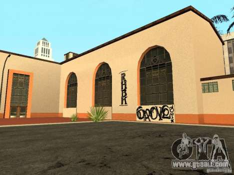 New textures for the station of unity for GTA San Andreas second screenshot