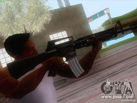 M16A4 for GTA San Andreas forth screenshot