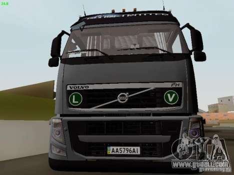Volvo FH13 Globetrotter for GTA San Andreas