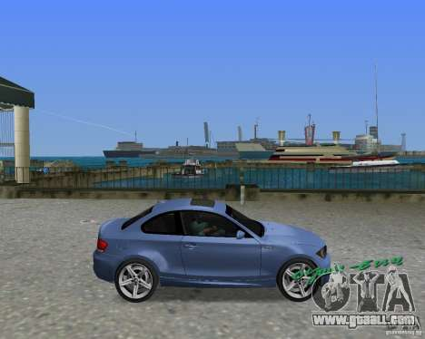 BMW 135i for GTA Vice City right view
