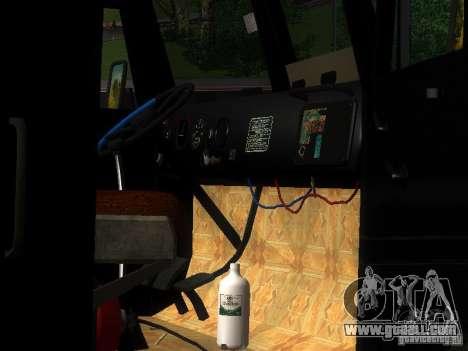 KrAZ-254 for GTA San Andreas upper view