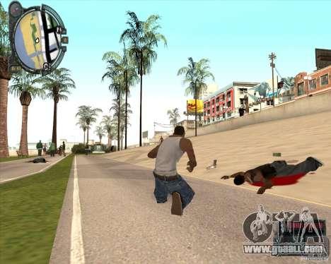 Real Weapons Drop Mod beta for GTA San Andreas third screenshot