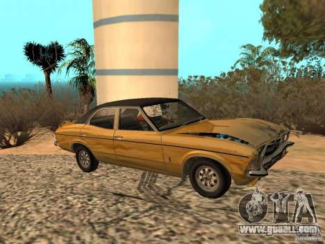 Ford Cortina MK 3 Life On Mars for GTA San Andreas back view