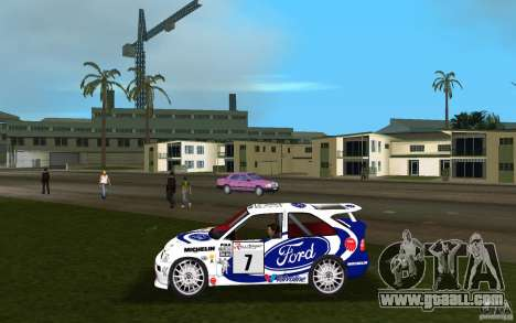 Ford Escort Cosworth RS for GTA Vice City left view