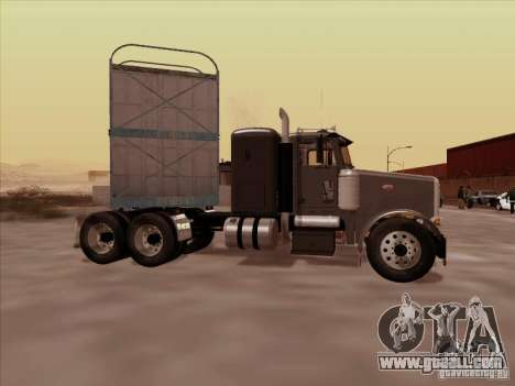 Peterbilt 378 for GTA San Andreas back left view