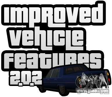Improved Vehicle Features v2.0.2 (IVF) for GTA San Andreas