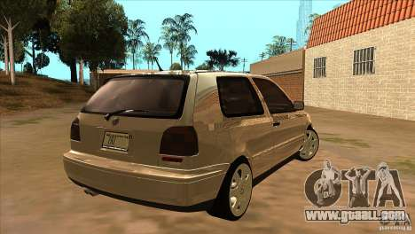 Volkswagen Golf MK3 VR6 for GTA San Andreas right view