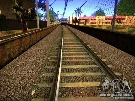 New Rails for GTA San Andreas eighth screenshot