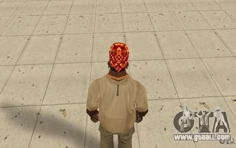 Halloween bandana for GTA San Andreas third screenshot