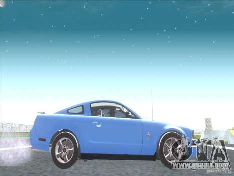 Ford Mustang Pony Edition for GTA San Andreas back view