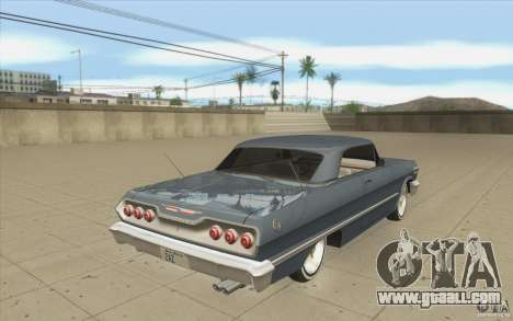 Voodoo for GTA San Andreas side view