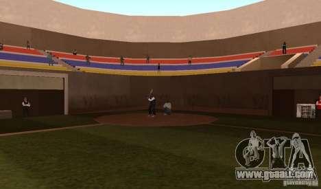 Animated Baseball Field for GTA San Andreas forth screenshot