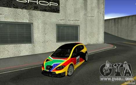 Seat Leon Cupra R for GTA San Andreas side view