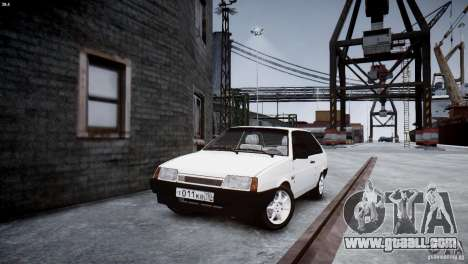 VAZ 21083i for GTA 4 right view