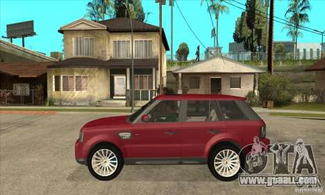 Land Rover Range Rover Sport HSE for GTA San Andreas left view
