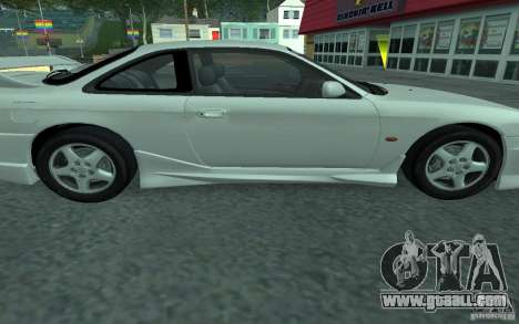 Nissan 200SX for GTA San Andreas inner view