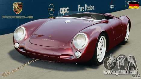 Porsche 550 A Spyder 1956 v1.0 for GTA 4