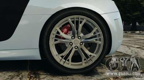 Audi R8 GT 2012 for GTA 4 upper view
