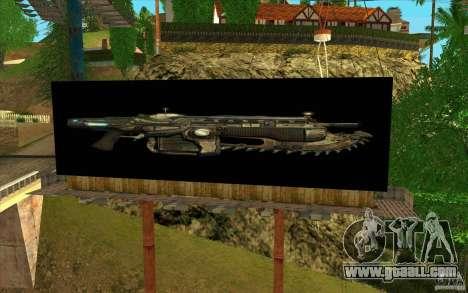Billboards In GEARS OF WAR for GTA San Andreas third screenshot