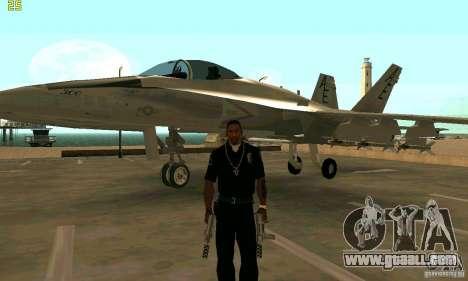 F-18 Super Hornet for GTA San Andreas