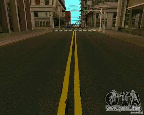 GTA 4 Roads for GTA San Andreas second screenshot