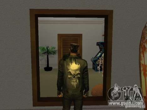 Skull jacket for GTA San Andreas