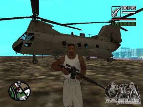 CH-46 SeaKnight for GTA San Andreas