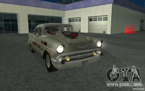 Chevrolet BelAir Bloodring Banger 1957 for GTA San Andreas back view
