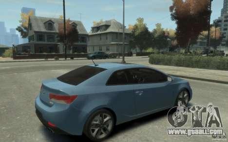 Kia Forte Koup SX for GTA 4 right view