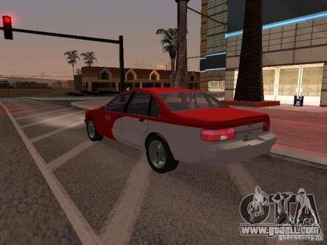 Chevrolet Impala SS 1995 for GTA San Andreas bottom view