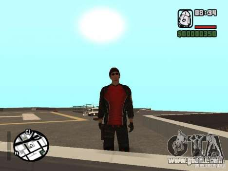 Skydiver for GTA San Andreas forth screenshot