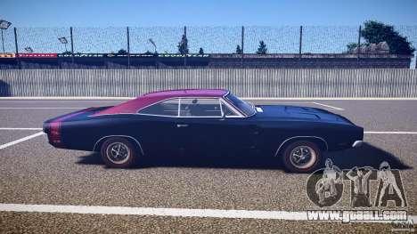Dodge Charger RT 1969 v1.0 for GTA 4 inner view