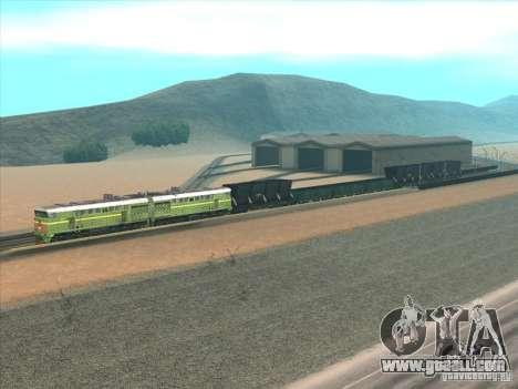 2te10u-0238 for GTA San Andreas back left view