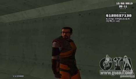 Gordon Freeman for GTA San Andreas