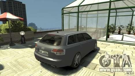 Audi A4 Avant beta for GTA 4 back left view