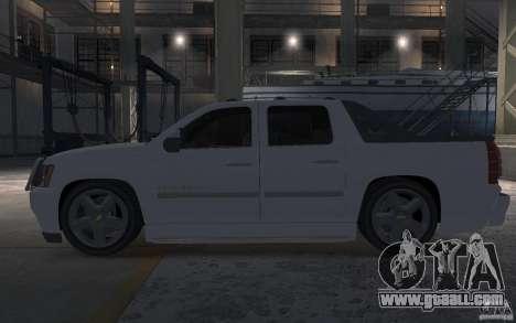 Chevrolet Avalanche v1.0 for GTA 4 left view