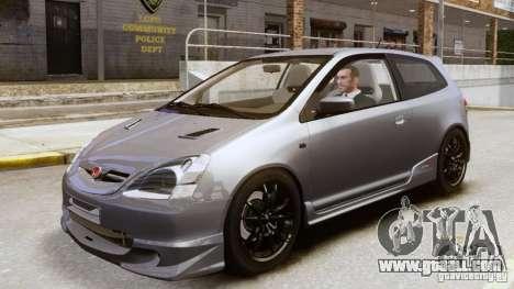 Honda Civic Type-R (EP3) for GTA 4 back view