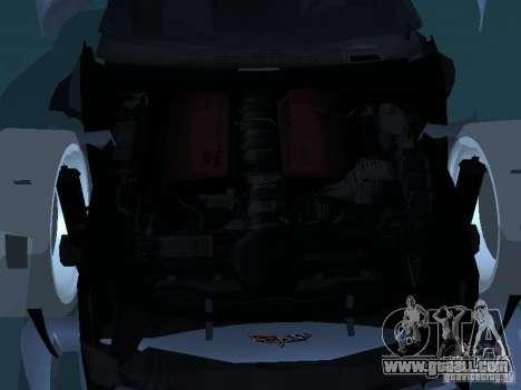 Chevrolet Corvette Stingray for GTA San Andreas upper view