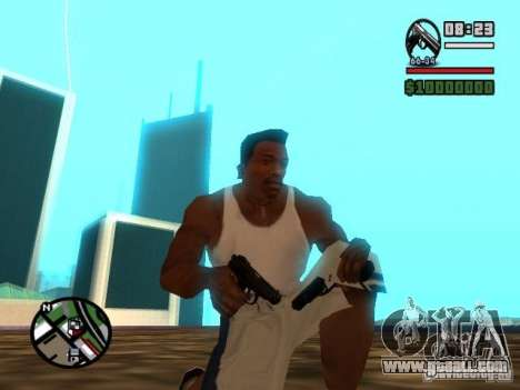 Gangster Weapon Pack for GTA San Andreas forth screenshot