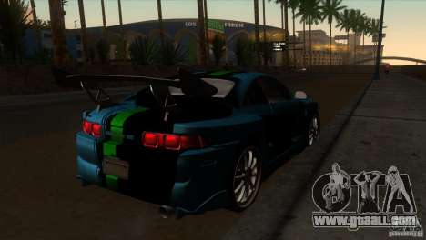 Toyota MR2 Drift for GTA San Andreas right view