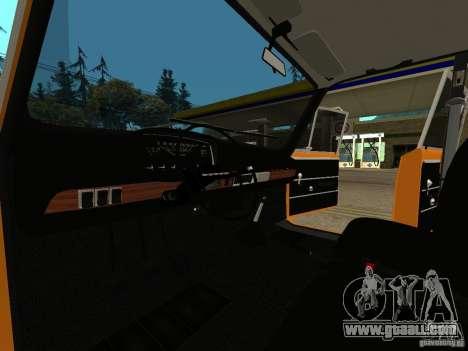 VAZ 2101 Restored for GTA San Andreas back left view