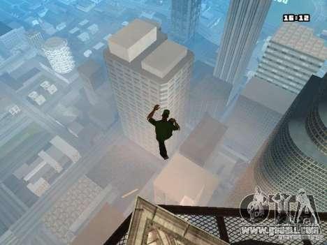 Parkour Mod for GTA San Andreas ninth screenshot