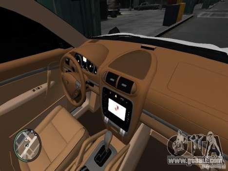 Porsche Cayenne Turbo 2003 v.2.0 for GTA 4 back view