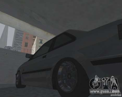 Futo from GTA 4 for GTA San Andreas back left view